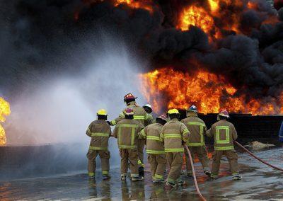 Avancerad Brandbekämpning STCW Advanced Firefighting Fortbildning-Refresher