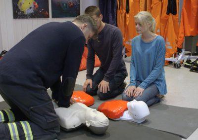 Allmän Sjukvårdsutbildning STCW Elementary First Aid